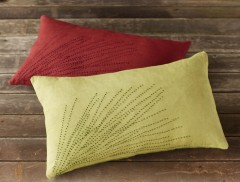 Coyuchi Tree-Top Pillow