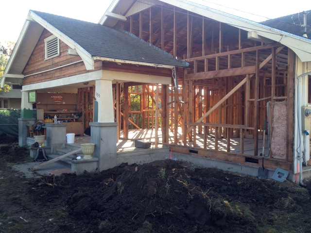 Midori Haus Under Construction - Santa Cruz Green Builders