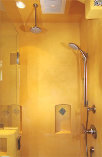 EcoStucco Shower Surround